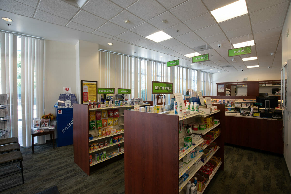 Pharmacy inside